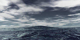 океан открытый Стоковые Фото