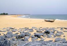 океан пляжа Стоковые Изображения