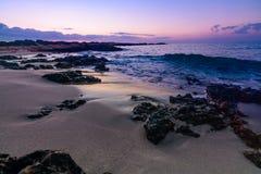 океан получает вверх стоковое фото