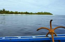 океан предпосылки анкера Стоковое Фото