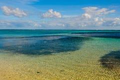 океан предпосылки тропический Стоковые Фото