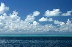океан предпосылки Стоковая Фотография