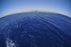 океан предпосылки Стоковое Изображение