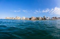 Океан плавая квартиры залива Ballito Стоковое фото RF