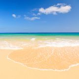 океан пляжа красивейший Стоковые Фото
