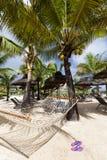 океан пляжа песочный Остров медового месяца o тропический Маврикия Стоковое фото RF
