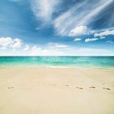 океан пляжа тропический Стоковое Изображение RF