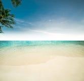 океан пляжа тропический Стоковые Фотографии RF
