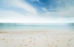 океан пляжа тропический Стоковое Изображение