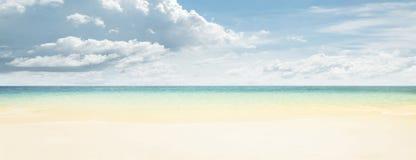 океан пляжа тропический Стоковое фото RF