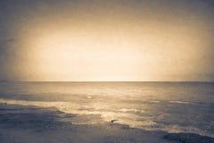 Океан с текстурой Стоковое Изображение