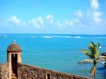 океан форта загородки Стоковые Изображения RF