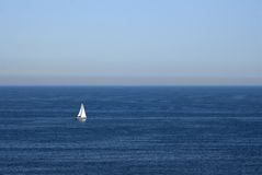 океан шлюпки Стоковое фото RF