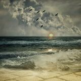 океан 01 Стоковое Фото