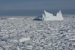 океан 3 айсбергов южный Стоковая Фотография
