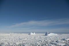 океан 3 айсбергов южный Стоковые Фото