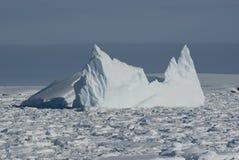 океан 6 айсбергов южный Стоковые Изображения RF
