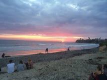 океан 3d представляет заход солнца стоковые фотографии rf