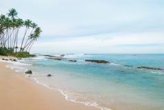 океан 3d представляет небо места Стоковые Изображения