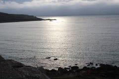 океан 3d представляет небо места Стоковые Фотографии RF