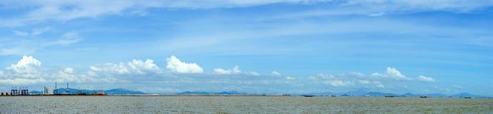 Океан LingDing Стоковые Изображения