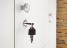 локер двери ключевой Стоковые Изображения RF
