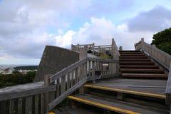 ОКИНАВА - 8-ОЕ ОКТЯБРЯ: Замок в Окинаве, Япония Shuri 8-ого октября 2016 Стоковые Фотографии RF