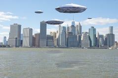 Оккупанты Нью-Йорка бесплатная иллюстрация