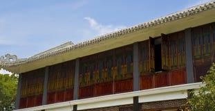 Окна замка Стоковое Фото