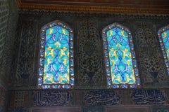 окна запятнанные стеклом Стоковые Фотографии RF