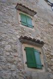 окна зеленого цвета 2 Стоковое Изображение RF