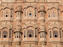 окна Индии jaipur hawa mahal Стоковая Фотография RF