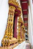 окна искусства тайские Стоковая Фотография RF