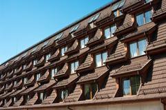 окна крыши гостиницы Стоковое фото RF