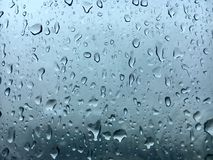 Окна дождевых капель Стоковая Фотография RF