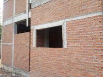 окна дома гаража фронта двери детали конструкции Стоковые Изображения
