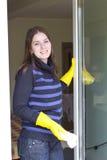 Окна дома милой горничной моя Стоковые Изображения RF