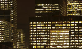 окна офиса Стоковая Фотография RF