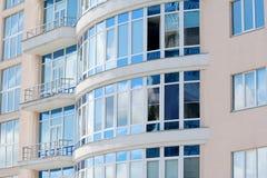 окна пластмассы офиса Стоковое Изображение RF