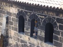 Окна свода - элементы каменной строя архитектуры стоковая фотография