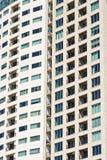 окна стены кондо балконов Стоковые Фотографии RF