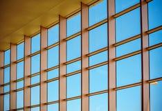 Окна текстуры искусства большие стеклянные стоковое фото