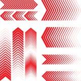 окна установленных символов eps10 абстрактной стрелки различные Современный дизайн стрелки Стоковая Фотография RF