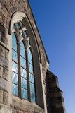 окна церков запятнанные стеклом Стоковые Изображения RF