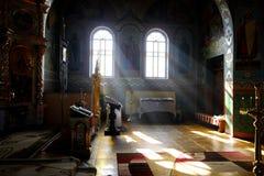 окна церков Стоковое Фото