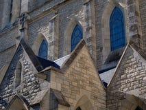 Окна церков Стоковое фото RF