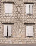 4 окна Стоковое Фото