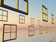 окна Стоковое Изображение