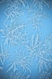окна icicle заморозка кристаллов естественные Стоковое Изображение