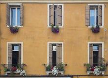 Окна Padova Стоковое Изображение RF